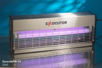 Уничтожитель насекомых EXOCUTOR EX 40 SS.  Корпус изготовлен из стали покрытой белой краской, боковины из...
